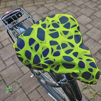 Bicycle Seat Cover with Photo, Text or Logo